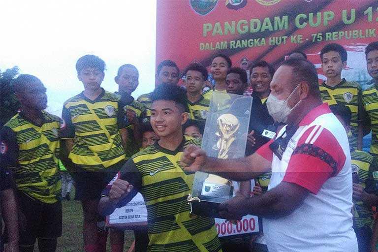 SSB Papua United Rebut Pangdam Cup