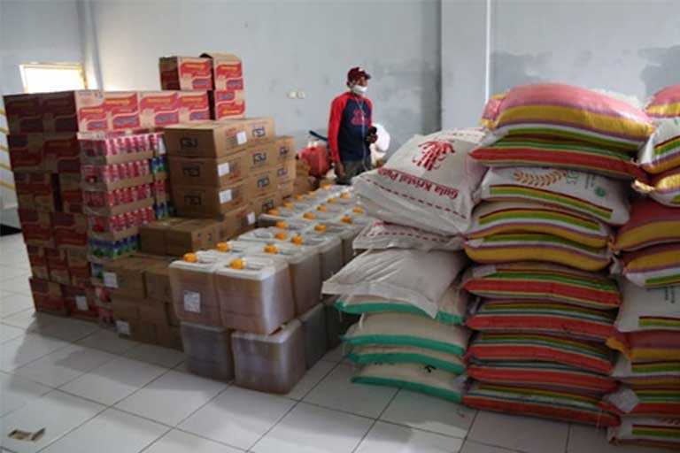 PT Freeport Indonesia Berikan Bantuan Bama 6 Ton Bagi Korban Banjir