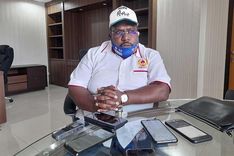 KONI Papua Resmi Berkantor di Kantor Baru