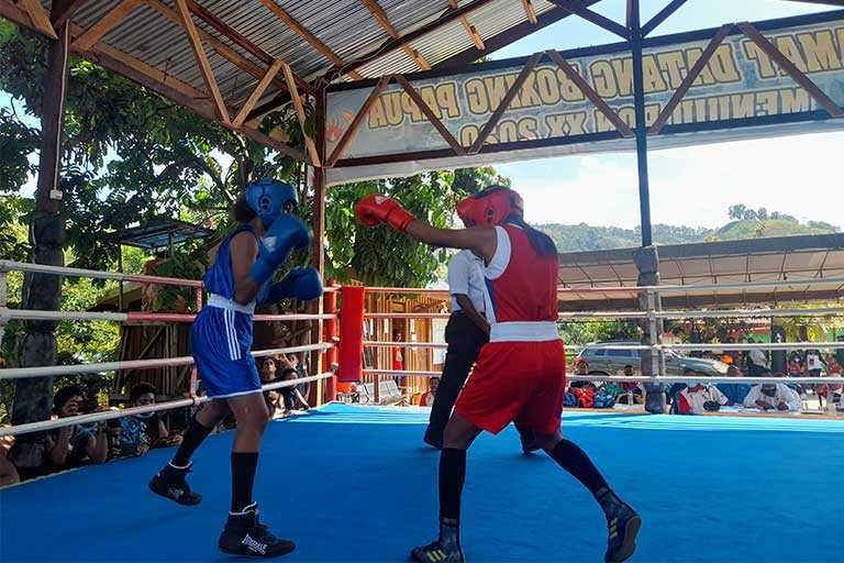 Atlet Tinju PON Papua