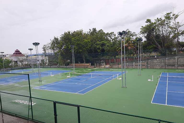 Venue Lapangan Tenis PON Papua