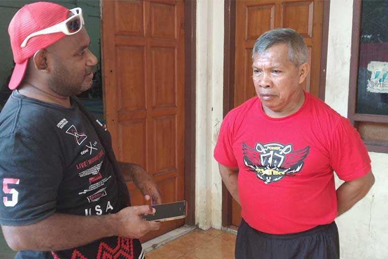 Atlet Binaraga Papua