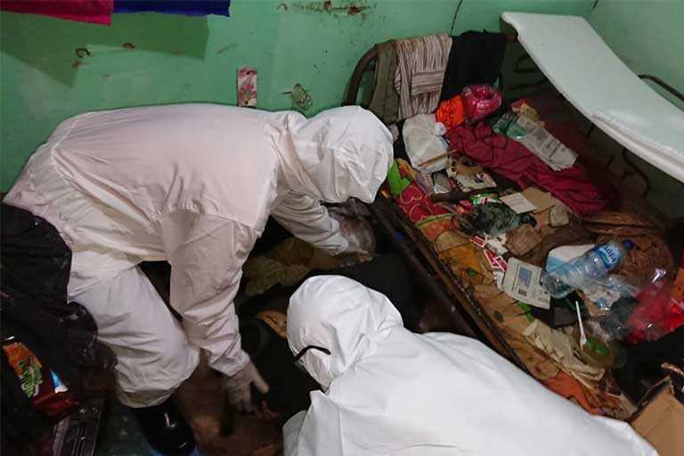 Untung Dwi Seputro ditemukan tidak bernyawa di Distrik Jayapura Utara