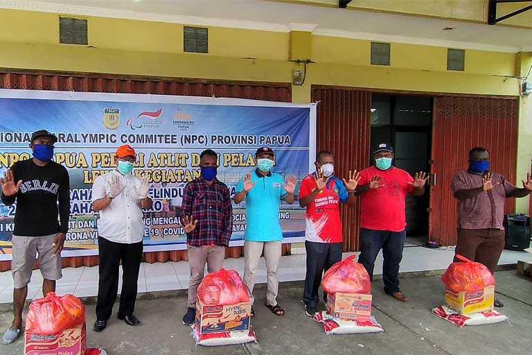 NPC Papua bagi Sembako