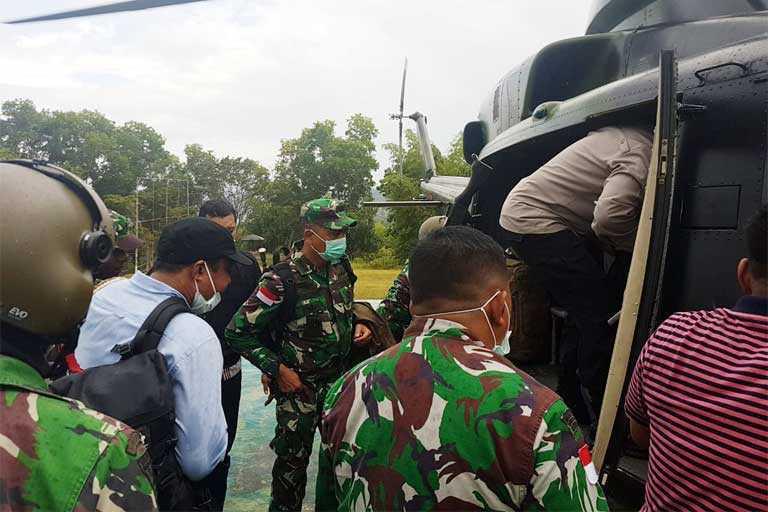 Tiga Anggota Polres Mambra Tewas Tertembak