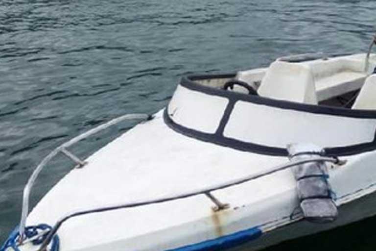Sepeedboat terbalik di sarmi