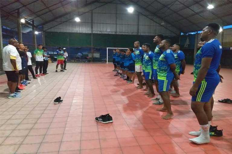 Atlet Bola Tangan PON Papua
