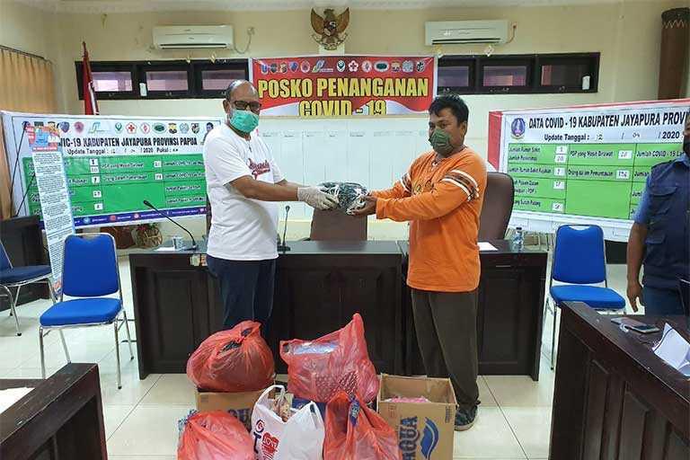 Gugus Tugas Penanganan Corona Kabupaten Jayapura