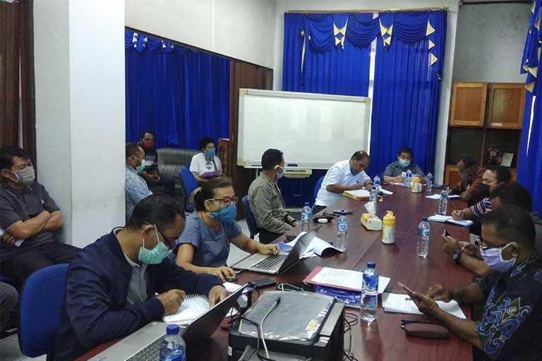 Tim Pengelola Dampak Ekonomi Covid-19 papua