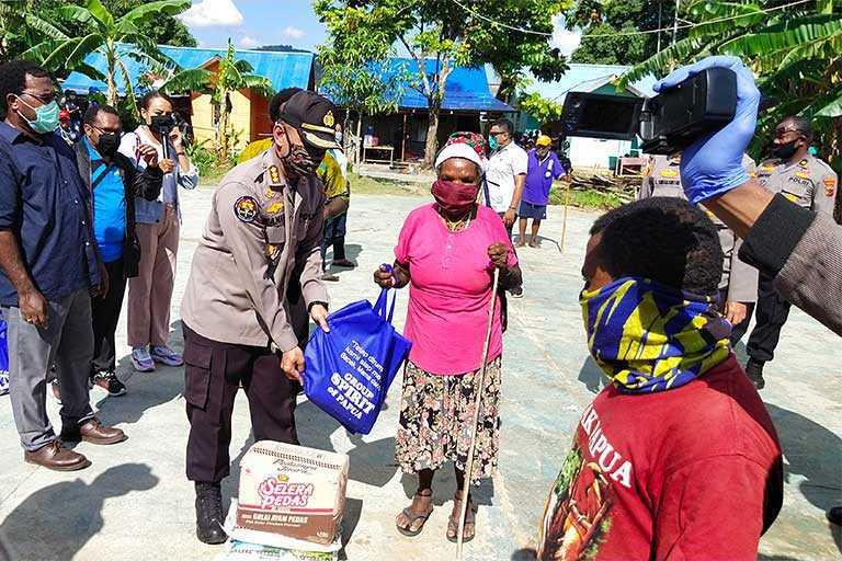 The Spirit Of Papua Bersama Polda Papua