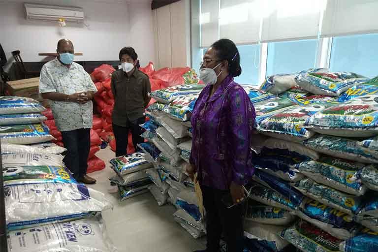 DPR Papua Akan Bagikan 3000 Paket Sembako