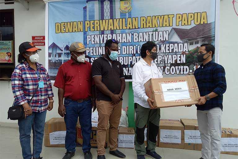 Tingginya rasa kepedulian DPR Papua serta langkah yang diambil saat ini guna membantu masyarakat Papua dan juga tenaga medis ditengah pandemi virus corona atau covid-19