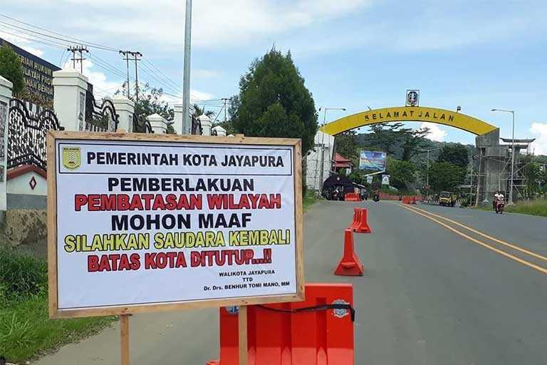 Walikota Jayapura Batalkan Pembatasan Wilayah