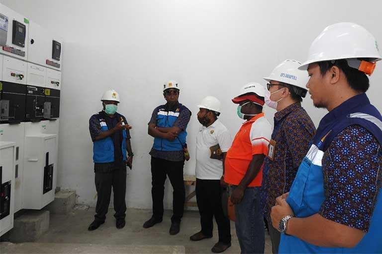 PLN Jayapura Launching dan Energized
