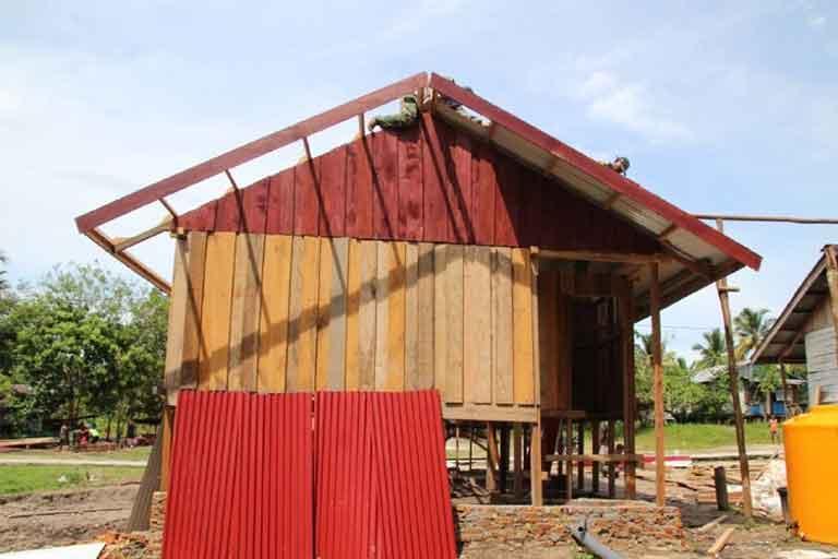 Pembangunan 20 Rumah Di Kampung Epem