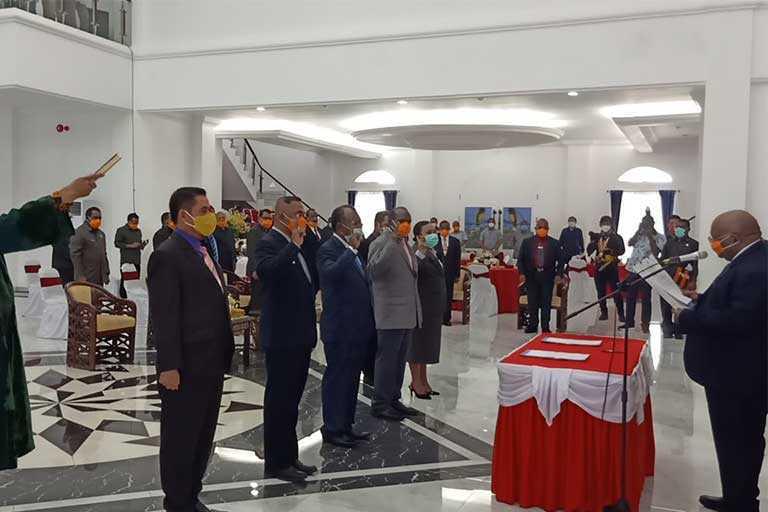 Ridwan Rumasukun Jabat Pj Sekda Papua