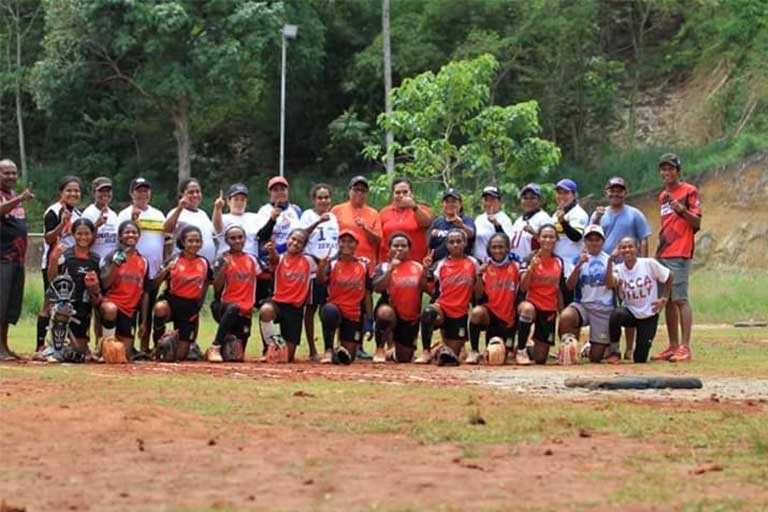 Softball dan Baseball PON Papua