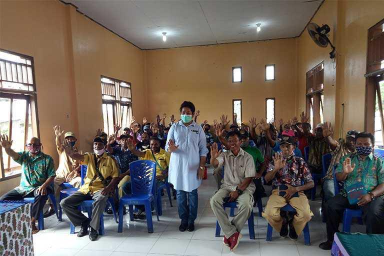 DPR Papua Hearing Dengan Warga Bonggo