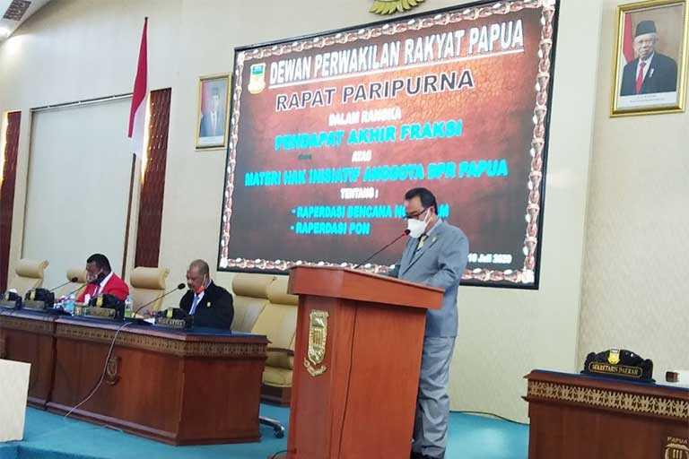 Raperdasi Inisiatif Anggota DPRP