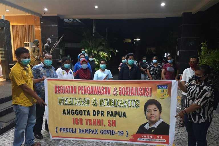 Ketua Fraksi Gerindra DPR Papua