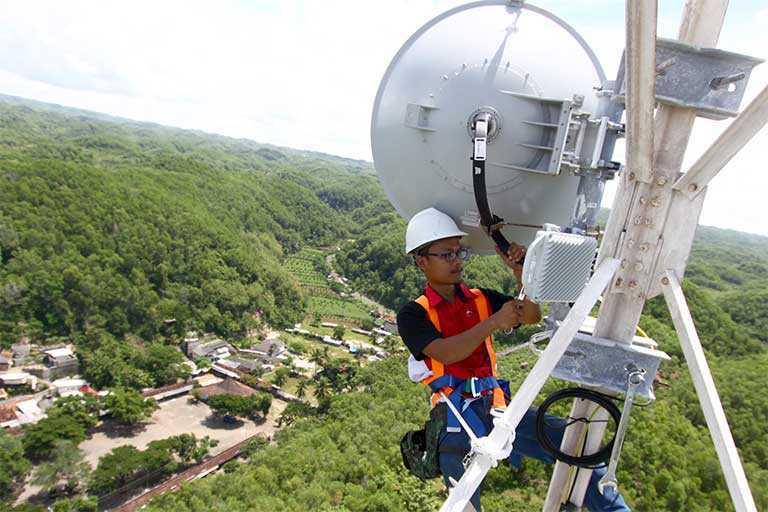 Pelanggan Telkom di Wamena