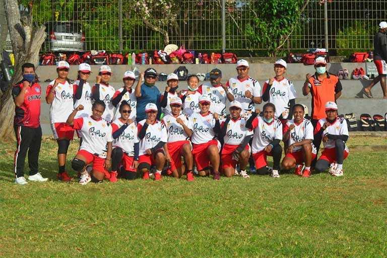 Kriket Papua Fokus Kondisi Fisik dan Teknik