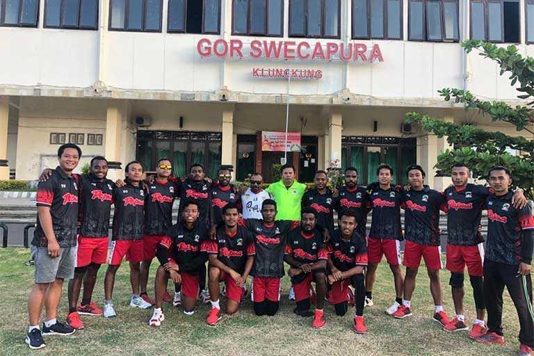 Papua Bidik Tiga Kejuaraan Kriket di Bali