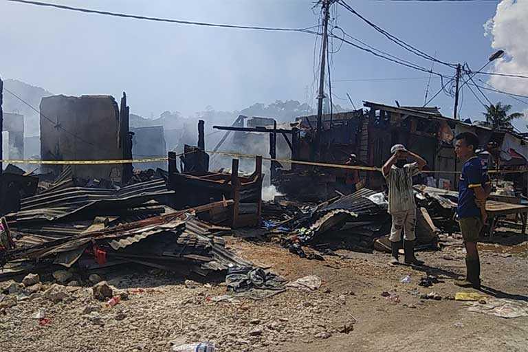 kebakaran terbaru Pasar Youtefa