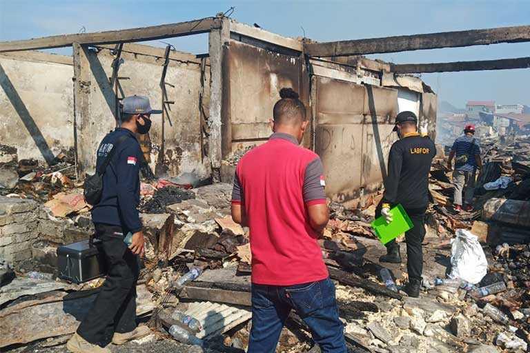 Kebakaran Pasar Youtefa