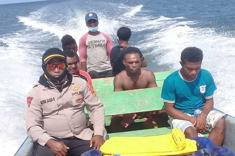 Speed Boat Tenggelam di yapen