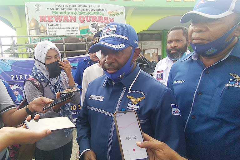 Demokrat Papua Usung Incumbent
