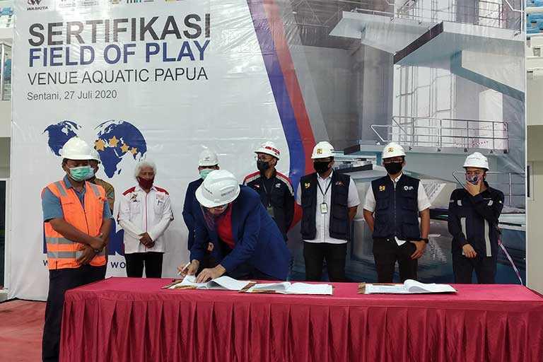 Venue Akuatik Papua