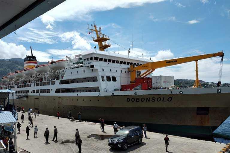 Pelabuhan di Papua Menurun