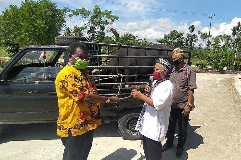 Dinas Kehutanan Papua Bantu Sembako