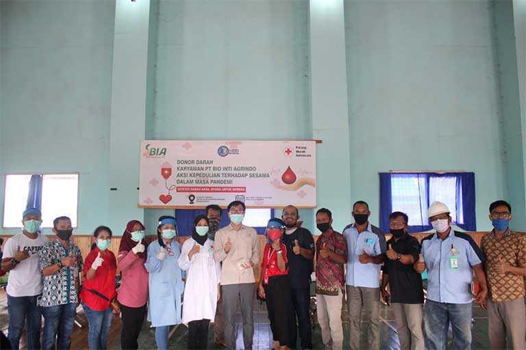 PT.BIA Gelar Aksi Donor Darah