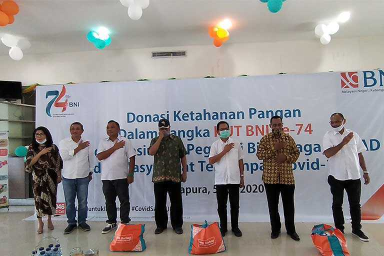 HUT BNI Kanwil Papua