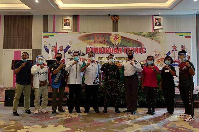 KONI Papua Gelar Bimtek Pelatihan