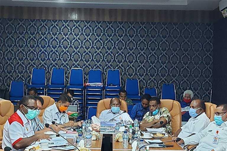 Pemerintah Provinsi Papua akan melakukan perubahan Master Plan Pekan Olahraga Nasional (PON) XX tahun 2020. Perubahan tersebut harus