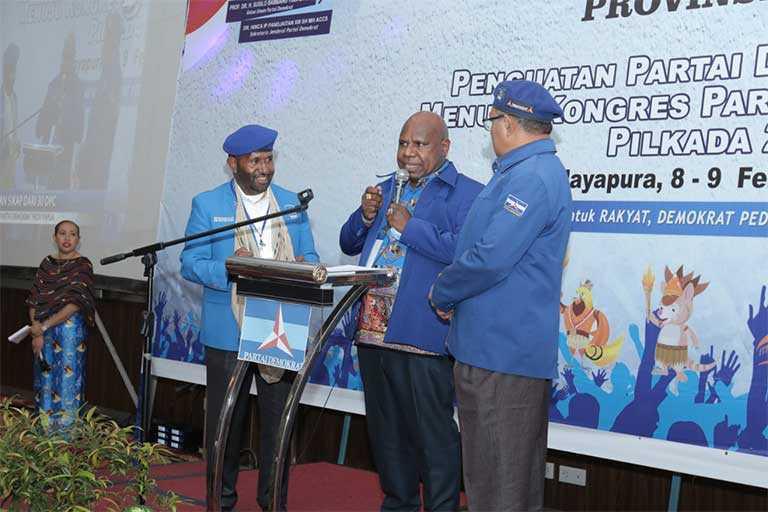 Demokrat Papua Kecam Ketua Gercin