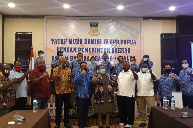Refocusing Anggaran Dinas PU papua