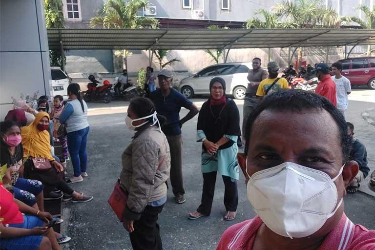 Warga Merauke terjebak di Jayapura
