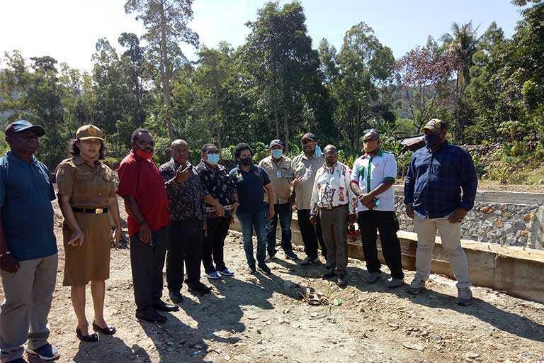 Pengendalian Banjir di Kampung Harapan