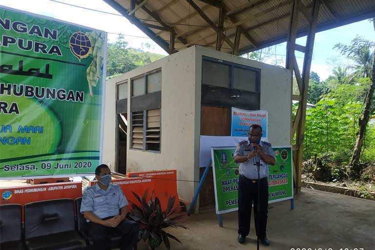 Dishub Kabupaten Jayapura Gelar Halal Bi Halal