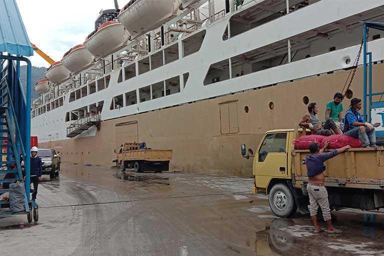 Penyeludupan Di Pelabuhan Laut Jayapura