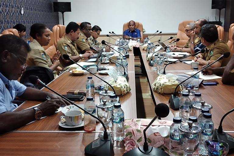 PB PON Papua Rasionalisasi Anggaran