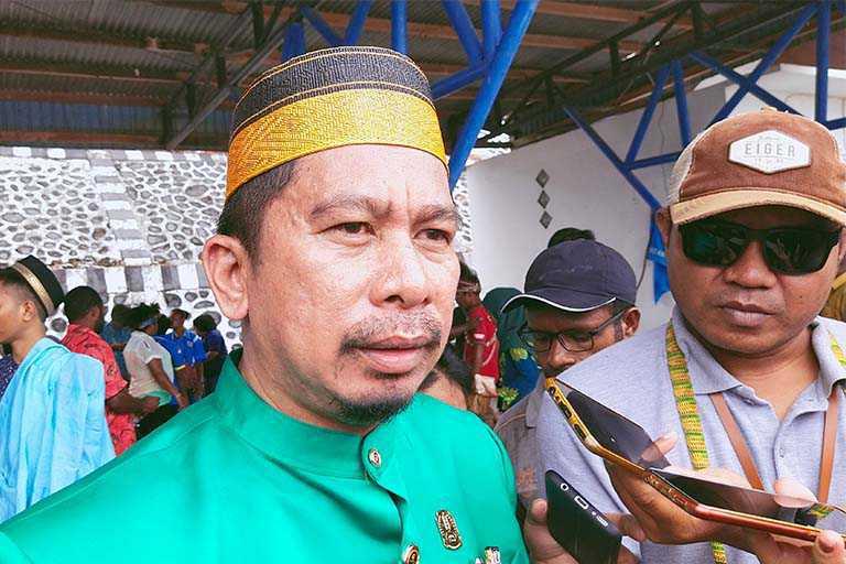 Anggota DPRD Kabupaten Jayapura, H. Wagus Hidayat