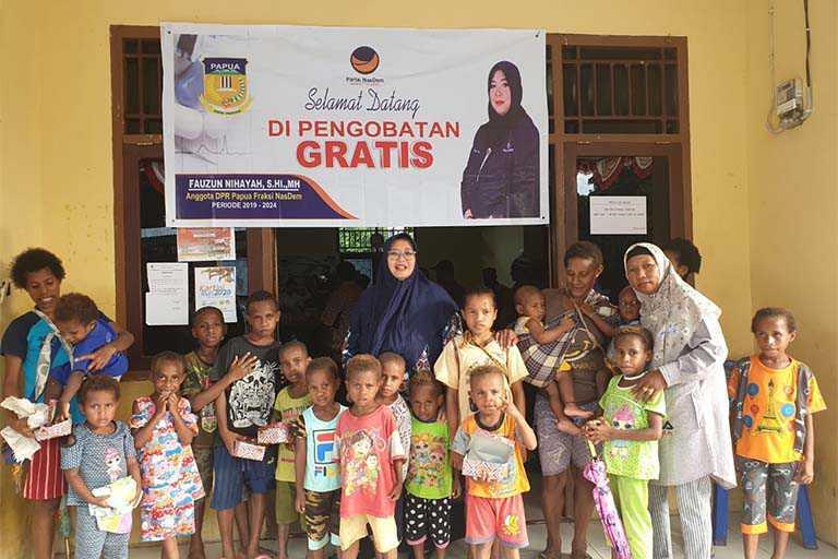 Fauzun Nihayah Anggota DPR Papua