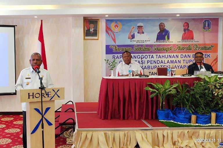 KONI Kabupaten Jayapura Gelar RAT Menuju Suksesnya PON XX