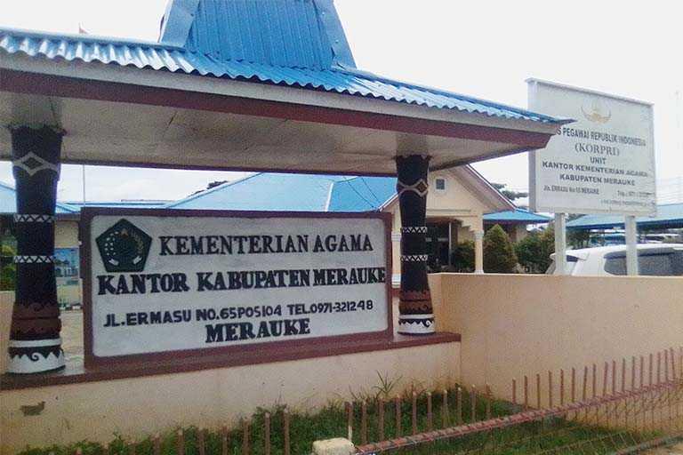 Kantor Kementerian Agama Merauke