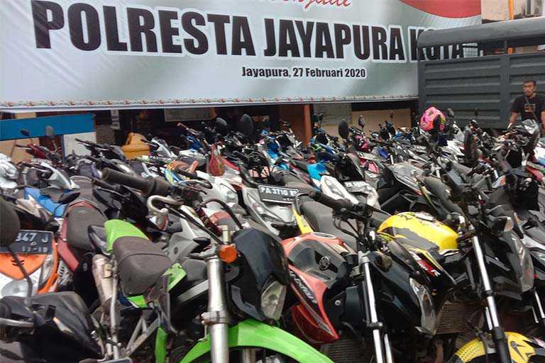 Kota Jayapura Lebih Dominan Kasus Curanmor